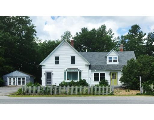 Maison unifamiliale pour l Vente à 398 US Route 202 398 US Route 202 Rindge, New Hampshire 03461 États-Unis