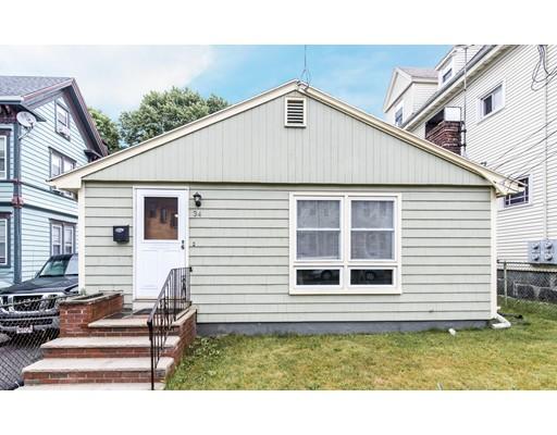 Single Family Home for Sale at 34 Edson Street Boston, Massachusetts 02124 United States