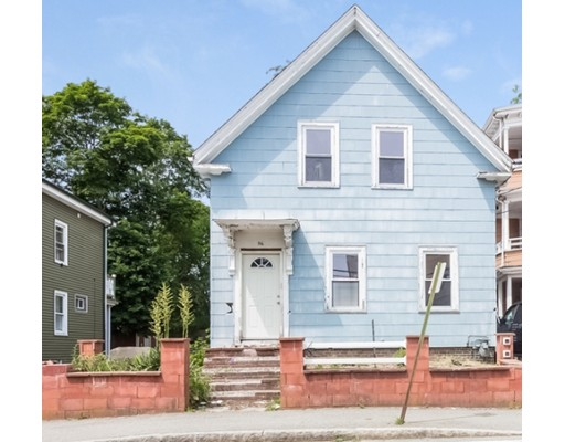 Single Family Home for Sale at 56 N Warren Avenue Brockton, Massachusetts 02301 United States