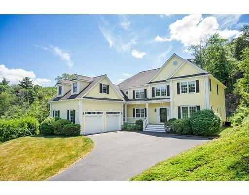 Частный односемейный дом для того Продажа на 20 Deerpath Road Dedham, Массачусетс 02026 Соединенные Штаты