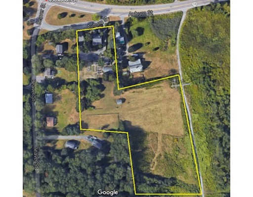 Land for Sale at 856 Auburn Street 856 Auburn Street Whitman, Massachusetts 02382 United States