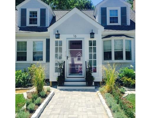 Maison unifamiliale pour l Vente à 16 Barbara Road 16 Barbara Road Newton, Massachusetts 02465 États-Unis