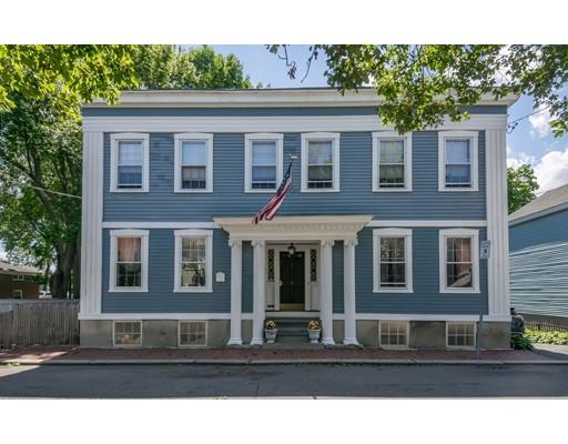 Частный односемейный дом для того Продажа на 5 Oliver Street 5 Oliver Street Salem, Массачусетс 01970 Соединенные Штаты