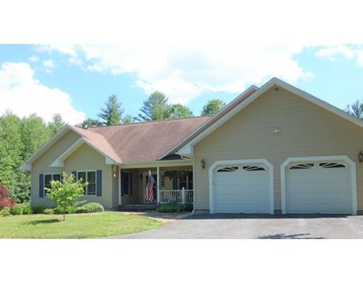 Частный односемейный дом для того Продажа на 507 Boyden Road Conway, Массачусетс 01341 Соединенные Штаты
