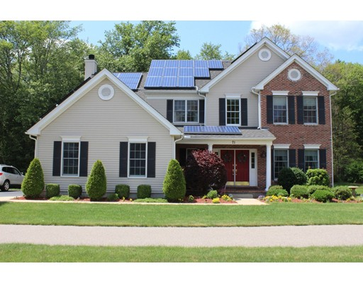 Single Family Home for Sale at 71 Whitehall Way Bellingham, Massachusetts 02019 United States