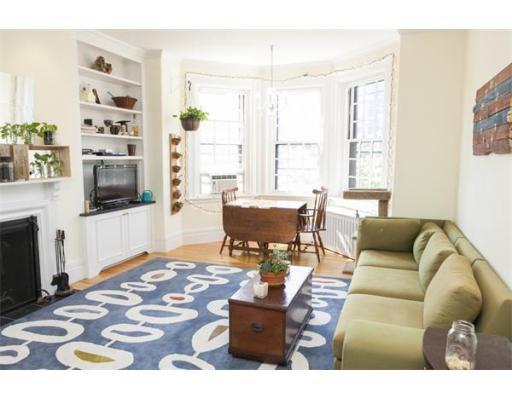 Casa Unifamiliar por un Alquiler en 381 Marlborough Street Boston, Massachusetts 02115 Estados Unidos