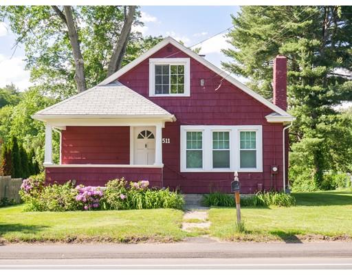 独户住宅 为 出租 在 511 Main Street Hampden, 马萨诸塞州 01036 美国