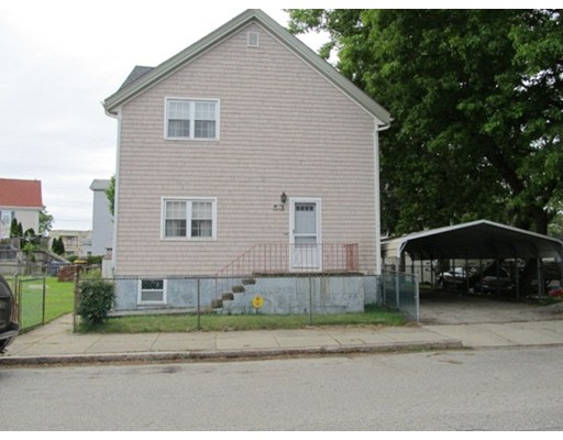 Single Family Home for Sale at 53 BUCKLEY STREET 53 BUCKLEY STREET Fall River, Massachusetts 02723 United States
