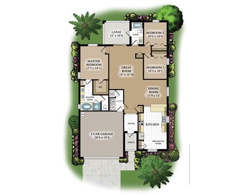 Maison unifamiliale pour l Vente à 2548 Laurentina Lane Cape Coral, Florida 33909 États-Unis