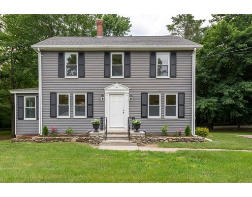 Single Family Home for Sale at 153 Central Street Millville, Massachusetts 01529 United States