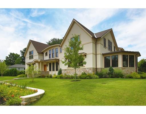 独户住宅 为 销售 在 115 Old Farm Road 115 Old Farm Road 牛顿, 马萨诸塞州 02459 美国