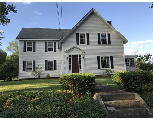 Single Family Home for Sale at 179 James Street 179 James Street Barre, Massachusetts 01005 United States