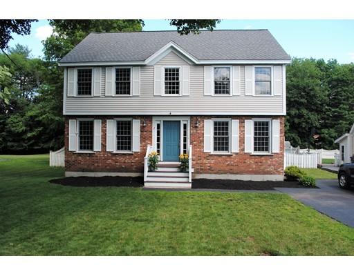واحد منزل الأسرة للـ Sale في 2 Pillsbury Lane Georgetown, Massachusetts 01833 United States