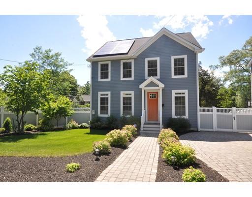 Maison unifamiliale pour l Vente à 60 Wright Street Arlington, Massachusetts 02474 États-Unis