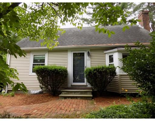 Casa Unifamiliar por un Venta en 59 Old Billerica Road Bedford, Massachusetts 01730 Estados Unidos
