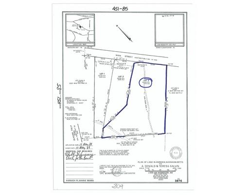 Земля для того Продажа на 309 Main Street 309 Main Street Harwich, Массачусетс 02645 Соединенные Штаты