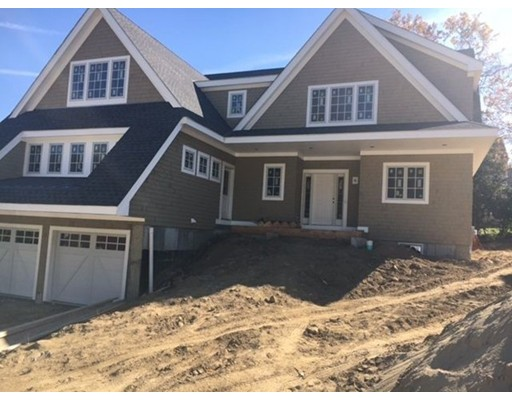 New Under Construction now- 3000 sq. ft. Nantucket style Colonial  in 4 Lot Subdivision abutting Cunningham Park.   This home will feature 9 rms, 5 Bdrms, 3.5 Bths with 2 car garage.  The first floor will offer a modern open concept featuring a gourmet kitchen with Stainless Bosch and Jennair appliances , granite counter tops and hardwood flrs throughout. Entertaining is a must with your gas fire placed family room featuring custom built ins , also a dining room, living rm and 1st.fl laundry. You will fall in love with your 1st. floor Master En suite  with gas fireplace and  double walk in closets.  The 2nd floor will feature 4 spacious bdrms with 2 Full Bths.  Additional features include a beautiful outdoor stone patio,  Asac exterior trim, multi heating/cooling zones, propane gas tank for cooking and fireplaces and Pella windows throughout.  Conveniently located just minutes to East Milton Square and Highway access.  Only 9 miles to Downtown Boston. Be In By December