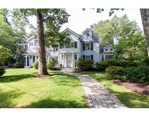 Single Family Home for Rent at 3 Ordway Road Wellesley, Massachusetts 02481 United States