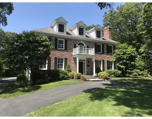 Casa Unifamiliar por un Venta en 202 Bristol Road 202 Bristol Road Wellesley, Massachusetts 02481 Estados Unidos