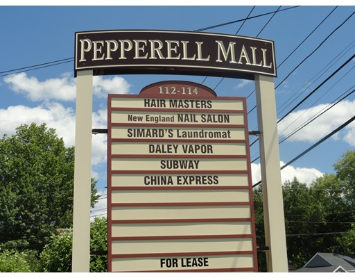 Comercial por un Alquiler en 112 Main Street 112 Main Street Pepperell, Massachusetts 01463 Estados Unidos