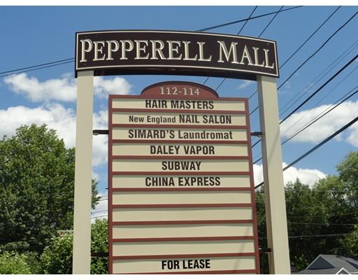 Commercial للـ Rent في 112 Main Street 112 Main Street Pepperell, Massachusetts 01463 United States
