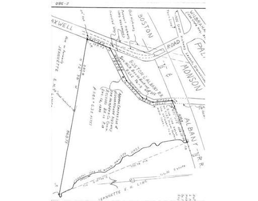 0 Hovey Road, Monson, MA, 01057