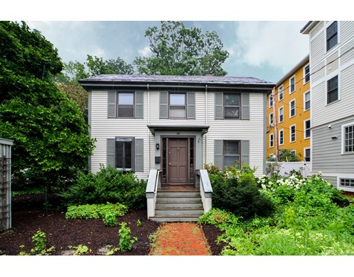 Single Family Home for Rent at 48 Banks Street Cambridge, Massachusetts 02138 United States