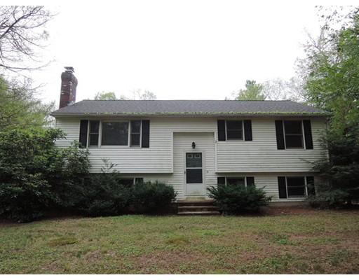 Casa Unifamiliar por un Venta en 96 Long Hill Road Brookfield, Massachusetts 01506 Estados Unidos