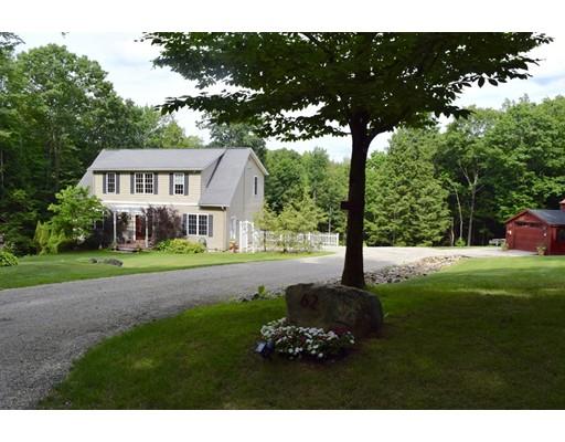 واحد منزل الأسرة للـ Sale في 62 Harlow Clark Road 62 Harlow Clark Road Huntington, Massachusetts 01050 United States