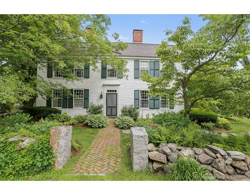 Single Family Home for Sale at 1 Hill Street Topsfield, Massachusetts 01983 United States