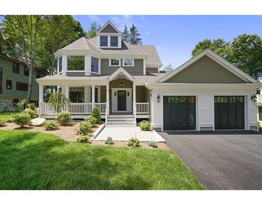 Maison unifamiliale pour l Vente à 57 Perkins Street 57 Perkins Street Newton, Massachusetts 02465 États-Unis