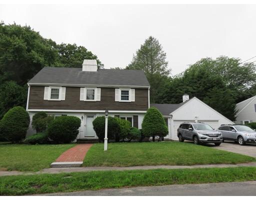 独户住宅 为 出租 在 58 Longacre Road Needham, 马萨诸塞州 02492 美国