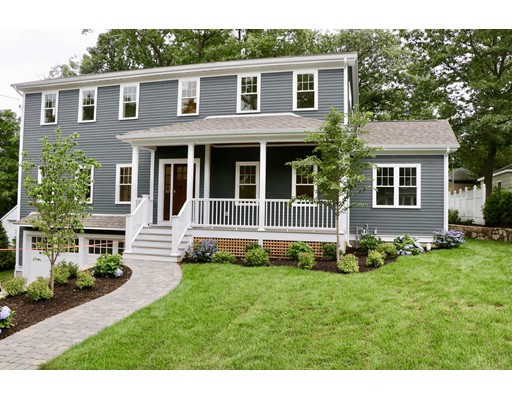 Single Family Home for Sale at 18 Gambier Newton, Massachusetts 02466 United States