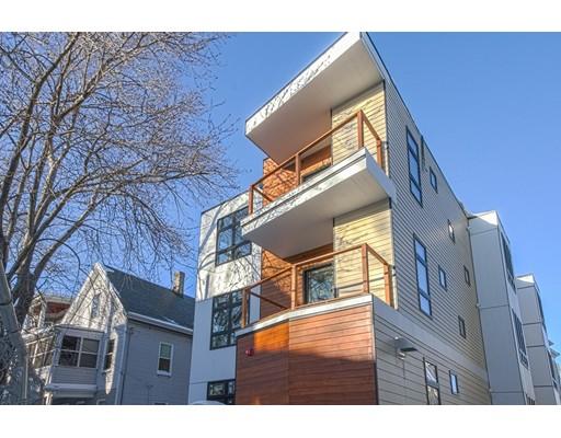 Appartement en copropriété pour l à louer à 15 Harris Street #2 15 Harris Street #2 Cambridge, Massachusetts 02140 États-Unis