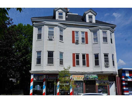 ATTENTION INVESTORS & 1031 BUYERS! WELL UPDATED & MANAGED 5-UNIT MIXED-USE BUILDING IN A GREAT DORCHESTER LOCATION NEAR ADAMS STREET!  THIS BUILDING WILL BE A CASH COW AND TURN KEY FOR THE NEW OWNER!  ALL 5 UNITS ARE MARKET RATE. THE STORE FRONTS HAVE ALL BEEN GUT RENOVATED WITH STRONG LONG-TERM TENANTS. THE RESIDENTIAL UNITS ARE GOOD SIZED 3 BEDROOMS AND HAVE LEAD COMPLIANCE CERTIFICATES.  THE EXTERIOR IS VINYL SIDING WITH A NEWER RUBBER & ASPHALT SHINGLE ROOF.  THERE IS FOUR CAR PARKING IN THE REAR. THE CURRENT GROSS ANNUAL INCOME IS $78,000/YEAR WITH EXPENSES OF $16,211. THE NOI IS $63,048 AND THE ESTIMATED CAP RATE IS A SOLID 6.6% WITH AN ESTIMATED RETURN ON INVESTMENT OF 9.3%.  THERE IS TREMENDOUS UPSIDE POTENTIAL FOR RENT ADJUSTMENTS. THE BASEMENT ALSO HAS A COIN-OP LAUNDRY ROOM TO GENERATE MORE INCOME! THIS WON'T LAST LONG SO CALL US TODAY!!  NO WEEKEND OR EVENING SHOWINGS.