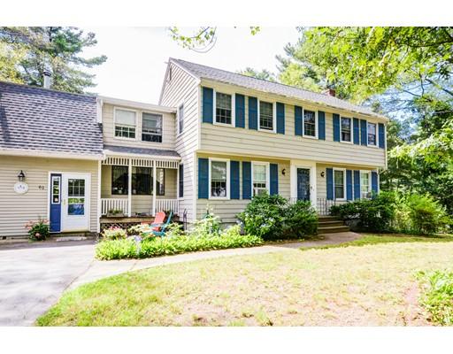 Single Family Home for Sale at 61 Warren Road Ashland, Massachusetts 01721 United States