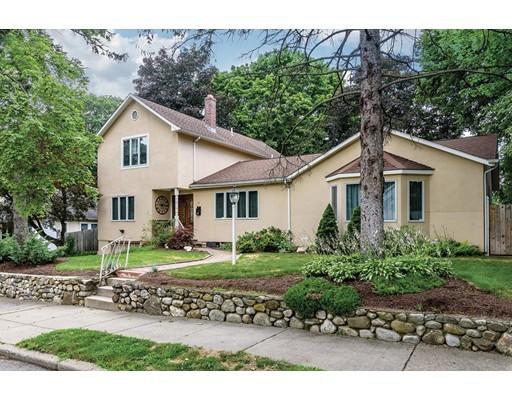Single Family Home for Sale at 11 Goddard Street Newton, Massachusetts 02461 United States