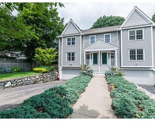 Condominium for Sale at 59 Chandler Street Belmont, Massachusetts 02478 United States