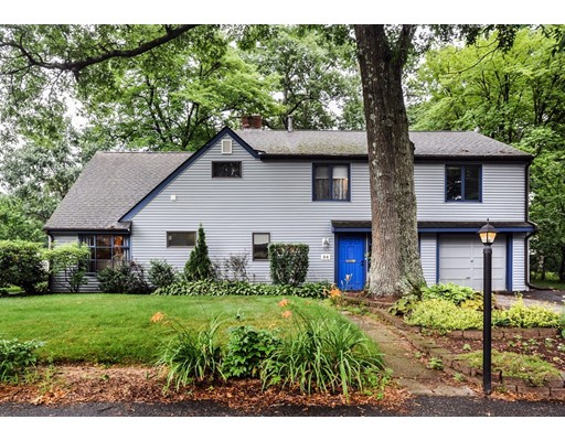 Single Family Home for Sale at 34 Curtis Road Natick, Massachusetts 01760 United States