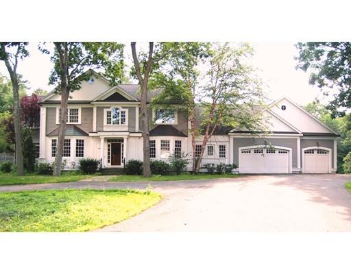 Частный односемейный дом для того Продажа на 1297 Central Avenue Needham, Массачусетс 02492 Соединенные Штаты