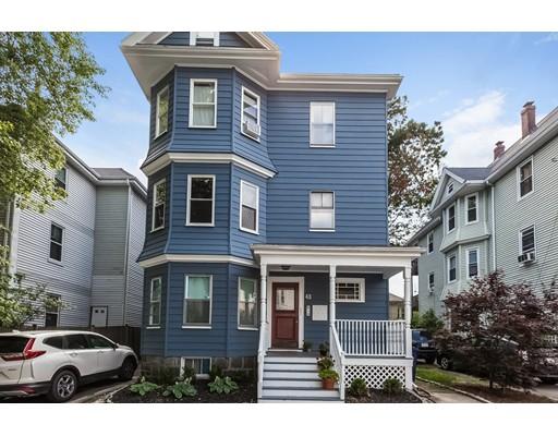 Condominium for Sale at 43 Goldsmith Street Boston, Massachusetts 02130 United States