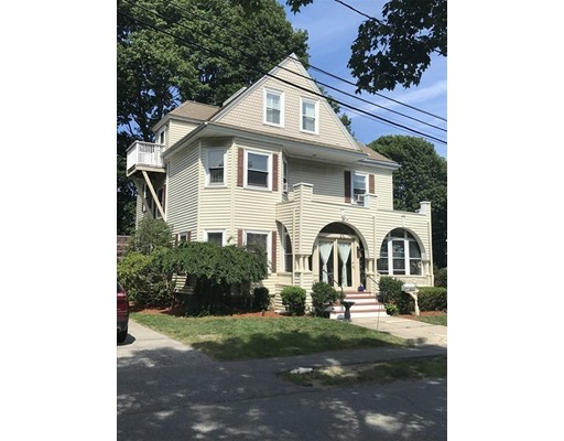Warm and inviting Victorian located in Precinct 1! This home has so much to offer. Beautiful first floor living starts with spacious enclosed and winterized porch.Then walk into a large entry hall that leads to double living room with fireplace and dining room.  The upgraded kitchen has granite counters, stainless steel appliances, island and pantry. You will also find a full bath and laundry. The second floor offers 4 great sized bedrooms with hardwood flooring and 2 updated full bathrooms. Master includes a master bath and double closets.  Third floor you will find a kitchen, bathroom, laundry, central a/c. This is great for an in-law apartment, area to entertain or great space for guests to stay.  This home sits on a beautiful corner lot, has detached one car garage and vinyl white fence. Convenient location with a short walk to the center, restaurants and stores. Easy access to major highways, Commuter rail and Legacy Place. This home will not disappoint all it has to offer!!