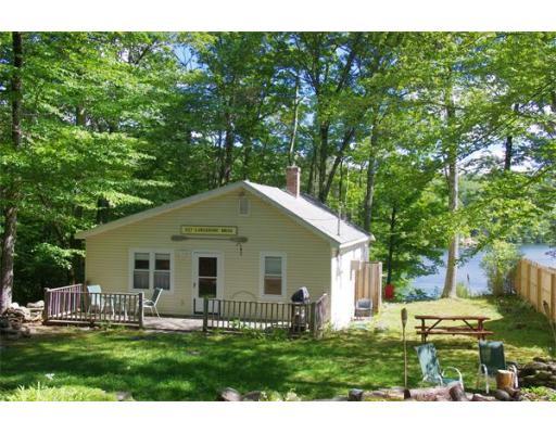 Частный односемейный дом для того Продажа на 227 Lake Shore Drive 227 Lake Shore Drive Huntington, Массачусетс 01050 Соединенные Штаты