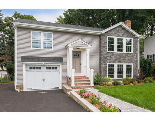 Single Family Home for Sale at 178 Overlook Road Arlington, Massachusetts 02474 United States