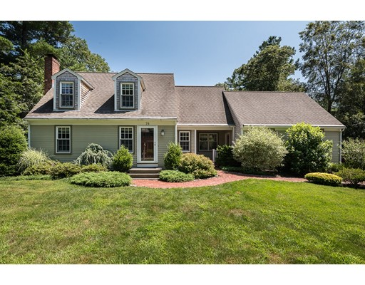 Single Family Home for Sale at 75 Aaron River Road Cohasset, Massachusetts 02025 United States