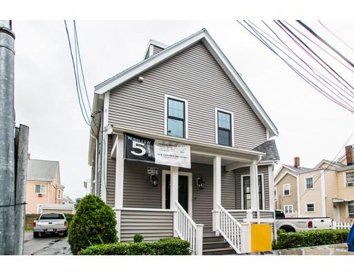 Condominium for Sale at 5 Wigglesworth Street Somerville, Massachusetts 02145 United States