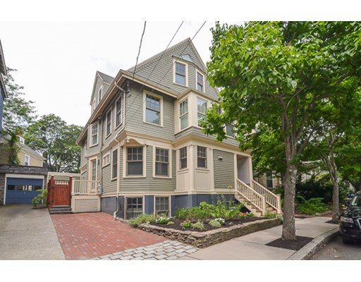 Condominium for Sale at 33 Gorham Street Cambridge, Massachusetts 02138 United States