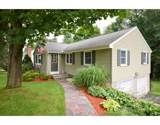 Single Family Home for Sale at 55 E Circle Drive East Longmeadow, Massachusetts 01028 United States