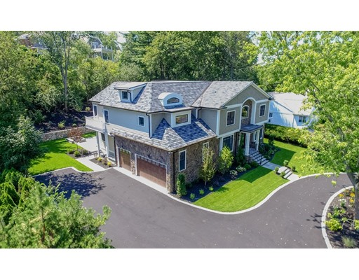 Single Family Home for Sale at 499 Dudley Road Newton, Massachusetts 02459 United States