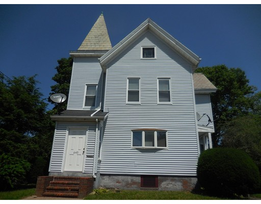 Single Family Home for Rent at 643 N. Main Brockton, Massachusetts 02301 United States